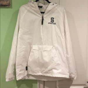 Syracuse rain coat